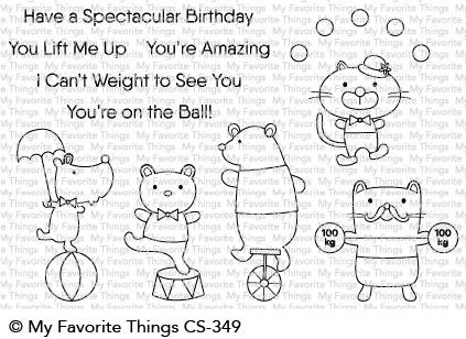 Clear Stamps Spectacular Birthday - Spektakulärer Geburtstag