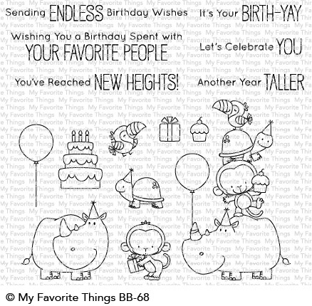 Clear Stamps BB Birth-Yay - Geburtstag