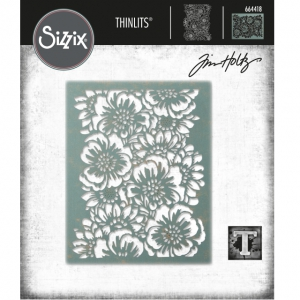Sizzix-Thinlits-Dies-Stanzschablone-By-Tim-Holtz-Bouquet