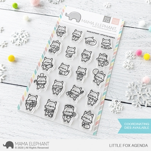 Mama-Elephant---Clear-Stamps-LITTLE-FOX-AGENDA---Fchse