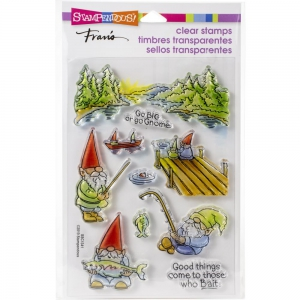 Stampendous-Perfectly-Clear-Stamps-Gnome-Fishing---Gnome-beim-angeln