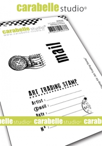 carabelle-studio-Stempelgummi-quotMy-Stamp-No-4-Art-Trading-Stampquot