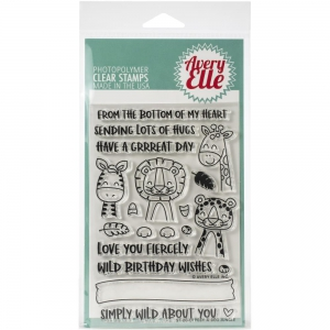 Avery-Elle-Clear-Stamps---Peek-A-Boo-Jungle