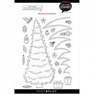 PHOTOPLAY-Say-It-With-Clear-Stamps---Trim-A-Tree---Weihnachtsbaum