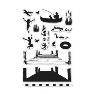 Hero-Arts-Color-Layering-Clear-Stamps---Pier-At-The-Lake