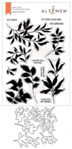 Altenew-Clearstamp-Set-Leaf-Clusters-Stamp--Die-Bundle---Stempel--Stanz-Set
