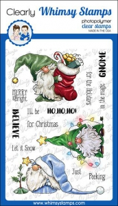 Whimsy-Stamps-Clear-Stamps---Gnome-for-the-Holidays-Weihnachten