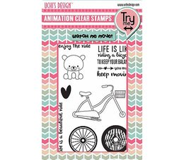 Uchis-Design-Animation-Clear-Stamps-and-Dies---Enjoy-the-Ride---Fahrradtour
