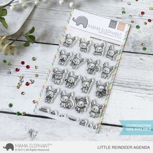 Mama-Elephant---Clear-Stamps-LITTLE-REINDEER-AGENDA---Rentier