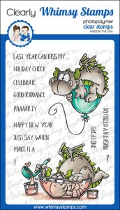 Whimsy-Stamps-Clear-Stamps---Dragon-New-Year-Drachen-Neujahr