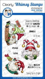 Whimsy-Stamps-Clear-Stamps---Gnome-for-Christmas-Weihnachten