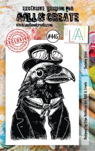 AALL--Create-Clear-Stamps----Dashing-Crow