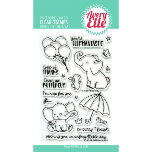 Avery-Elle-Clear-Stamps---Elephantastic---Elefant