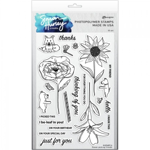 Simon-Hurley-create-Photopolymer-Clear-Stamps-Flower-Picking-Friends