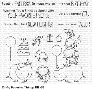 Clear-Stamps-BB-Birth-Yay---Geburtstag