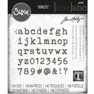 Sizzix-Thinlits-Dies-Stanzschablone-By-Tim-Holtz-Alphanumeric-Tiny-Type-Lower