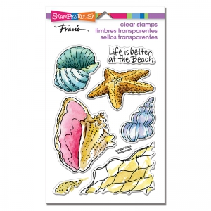 Stampendous-Perfectly-Clear-Stamps---Shell-Beach