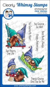 Whimsy-Stamps-Clear-Stamps---Gnome-One-Else