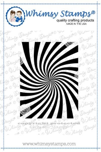 Whimsy-Stamps-Rubber-Cling-Stamp----Cosmic-Swirl-Background-Gummistempel-