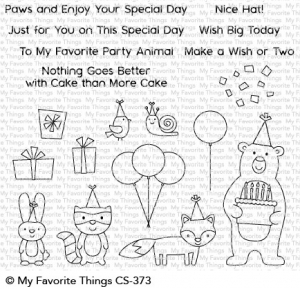 Clear-Stamps-Birthday-Bear--Friends---Geburtstagsbr--Freunde