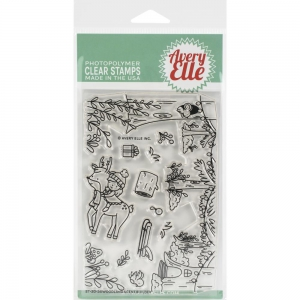 Avery-Elle-Clear-Stamps--Woodland-Scene-Builder