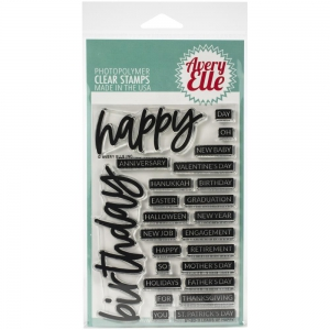 Avery-Elle-Clear-Stamps---Loads-Of-Happy