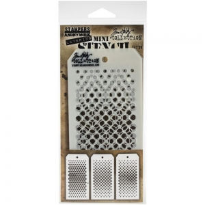 Tim-Holtz-Collection-Schablone-Mini-Layering-Stencil-Set-39