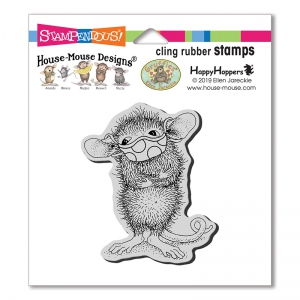 Stampendous-Cling-Stamps-Masked-Maxwell-Rubber-Stamp---House-Mouse-Gummistempel