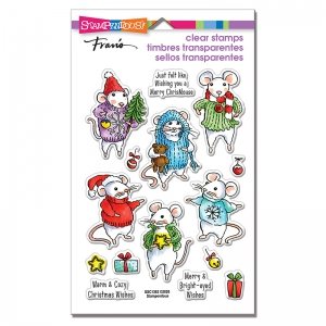 Stampendous-Perfectly-Clear-Stamps---Felt-Mice