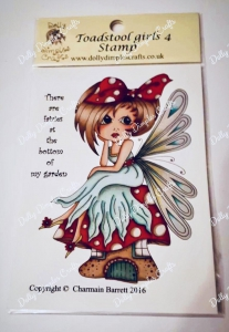Dolly-Dimples-Crafts-Clear-Stamps-Toadstool-Girls-Stamp-No4