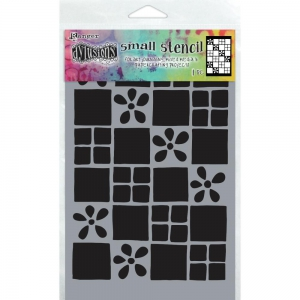 Dyan-Reaveleys-Dylusions-Stencils-Schablone---Square-Dance