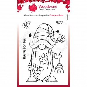 Woodware-Clear-Singles-Bee-Gnome