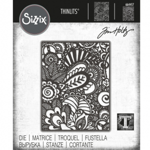 Sizzix-Thinlits-Dies-Stanzschablone-By-Tim-Holtz-Doodle-Art