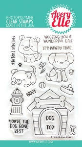 Avery-Elle-Clear-Stamps---Dog-Gone