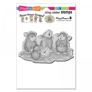 Stampendous-Cling-Stamps-Bon-Bon-Birthday-Day-Rubber-Stamp---House-Mouse-Gummistempel