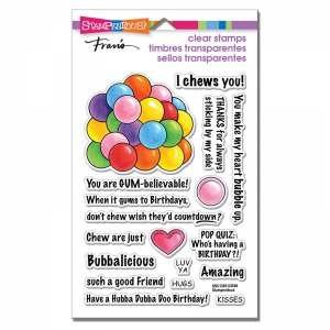 Stampendous-Perfectly-Clear-Stamps---Gumball-Greetings