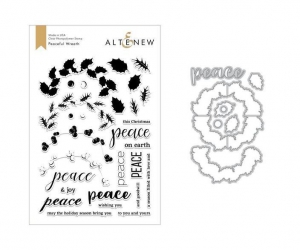 Altenew-Clearstamp-Set-Peaceful-Wreath-Stamp--Die-Bundle---Stempel--Stanz-Set