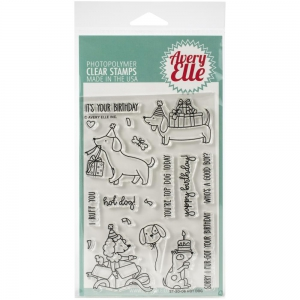 Avery-Elle-Clear-Stamps---Hot-Dog