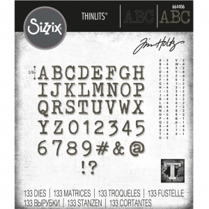 Sizzix-Thinlits-Dies-Stanzschablone-By-Tim-Holtz-Alphanumeric-Tiny-Type-Upper