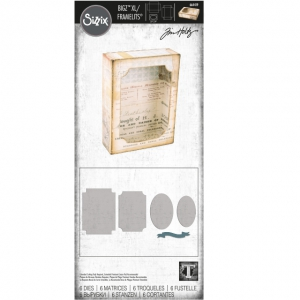 Sizzix-Bigz-XL-Die-WFramelits-By-Tim-Holtz-Stanzschablone-By-Tim-Holtz-Curio-Box