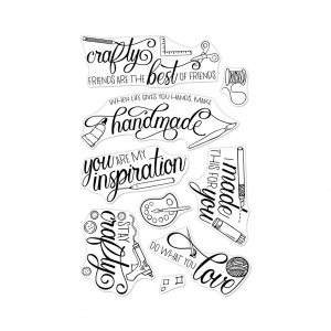 Hero-Arts-Clear-Stamps-CRAFTY-MESSAGES