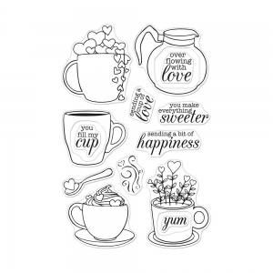 Hero-Arts-Color-Layering-Clear-Stamps---Cup-Of-Love