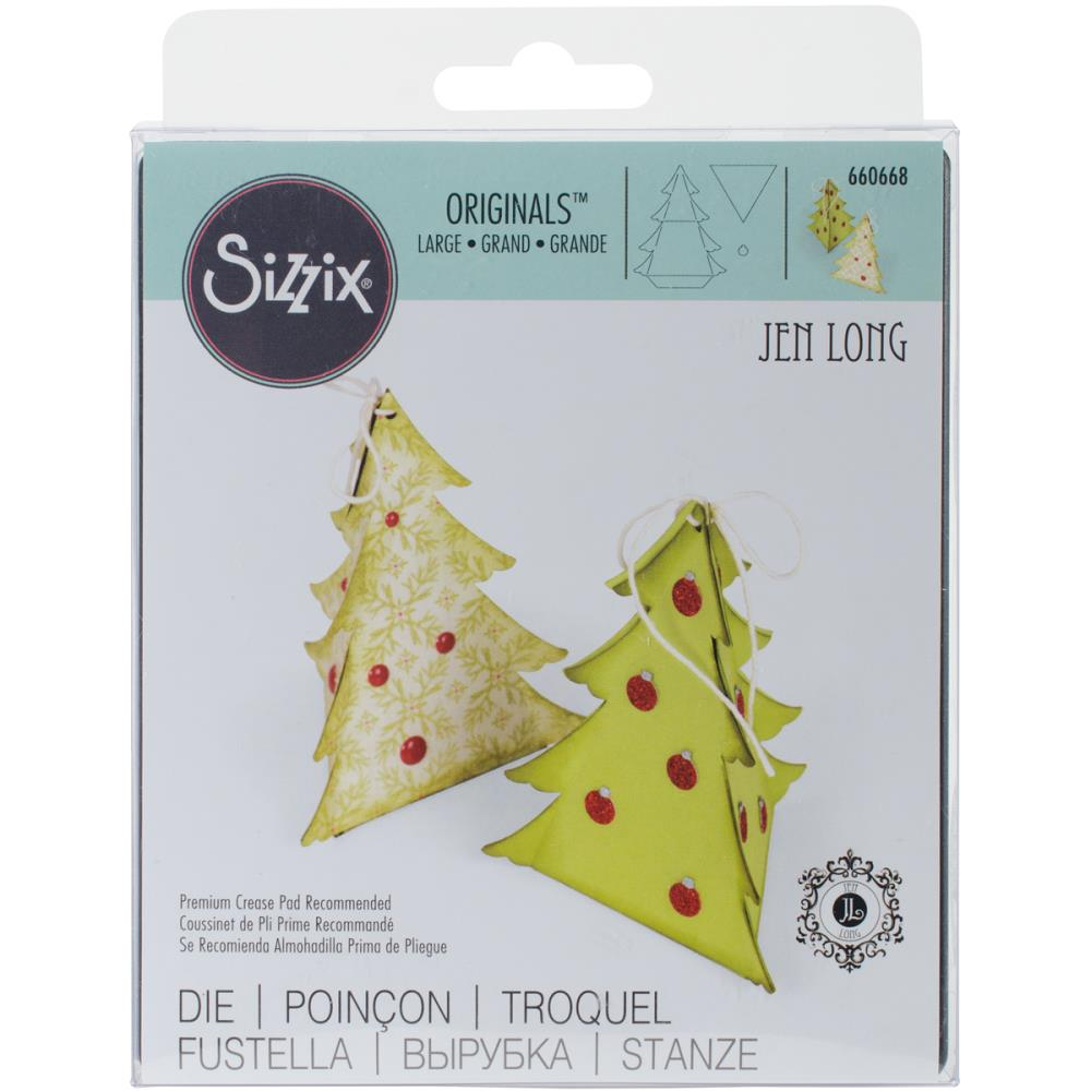 Bild 1 von Sizzix Originals Die - Box, Christmas Tree