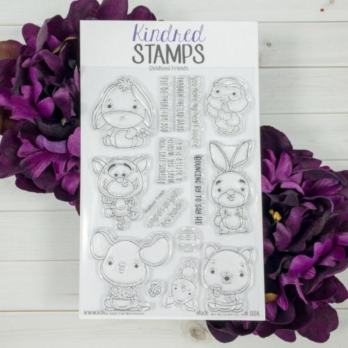 Bild 1 von Kindred Stamps Clearstamps Childhood Friends
