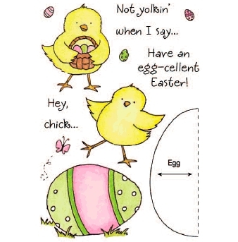 Bild 1 von Clearstamps HoneyPOP Easter Chick