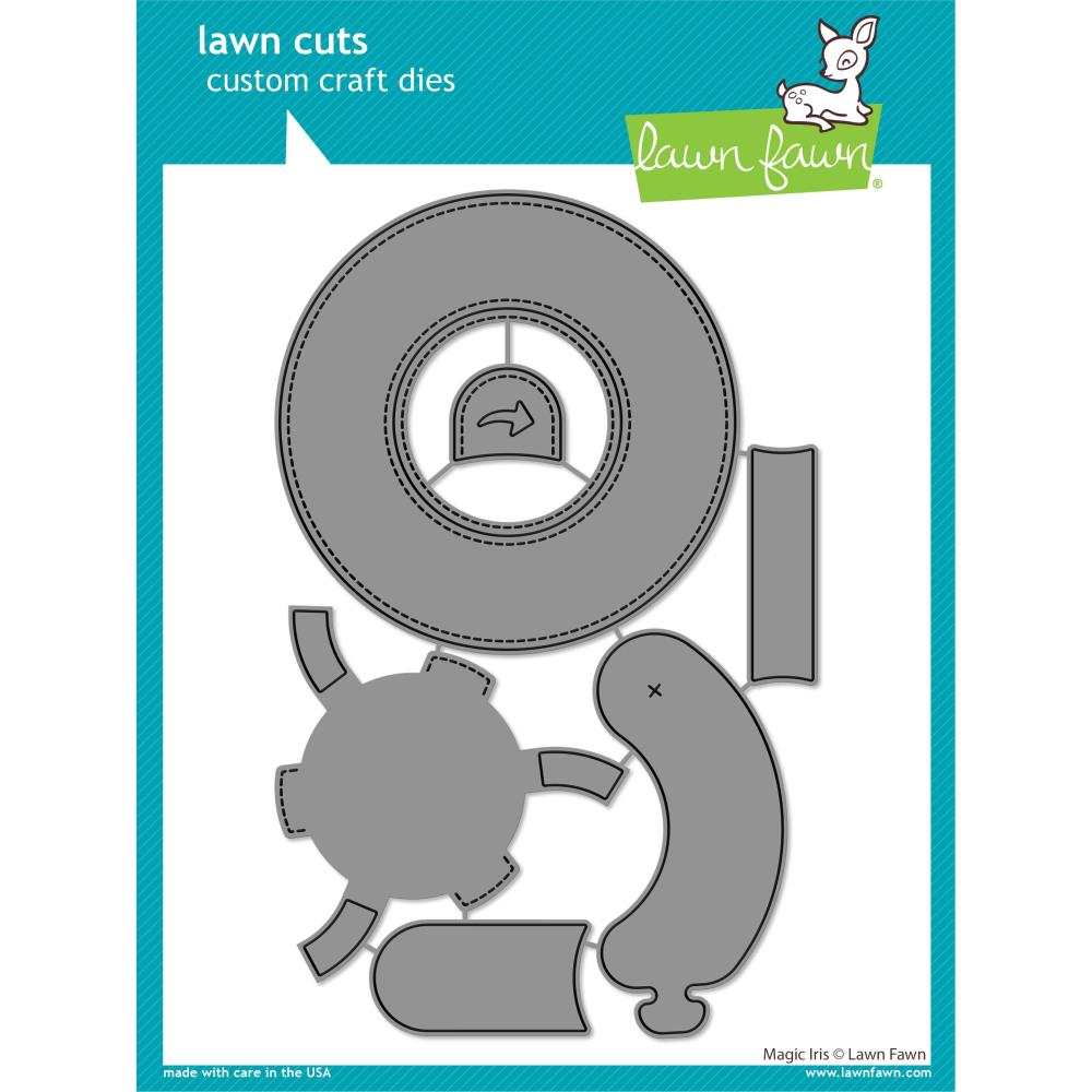 Bild 1 von Lawn Fawn Cuts  - Stanzschablone Magic Iris