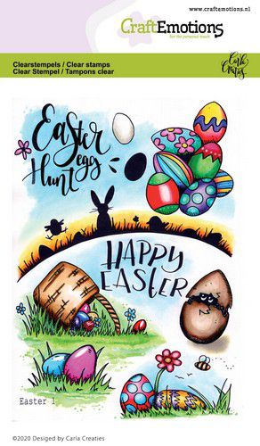 Bild 1 von CraftEmotions Stempel - clearstamps A6 - Easter 1 Carla Creaties