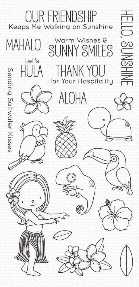 Bild 1 von My Favorite Things - Clear Stamps BB Polynesian Paradise