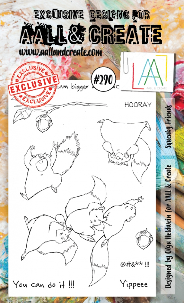 Bild 1 von AALL & Create Clear Stamps  - Squeaky Friends