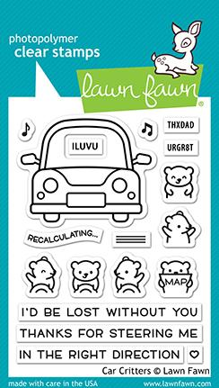 Bild 1 von Lawn Fawn Clear Stamps  - Clearstamp Car critters